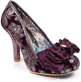 De Para Amazon MujerY esMorado Zapatos Tacón MqSUVzpG