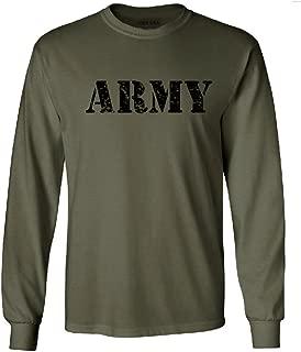 Vintage Army Logo T-Shirts, Regular Big and Tall Sizes