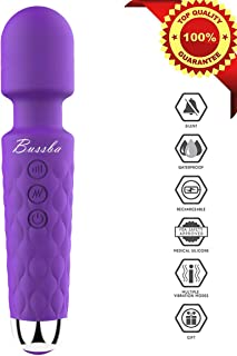 Bussba Electric Rechargeable Micro Strongest protable Wand Massager Cordless Whisper..