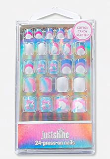 Justice Just Shine Press On Nails You Are Magical Unicorn
