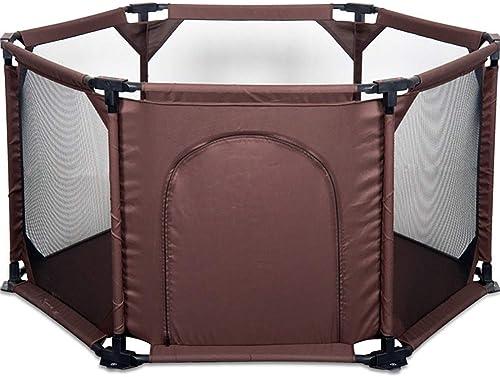 marca famosa DNSJB Juego de Niños Niños Niños ensamblado Fence Folding Baby Palypen 6 Panel  el mejor servicio post-venta