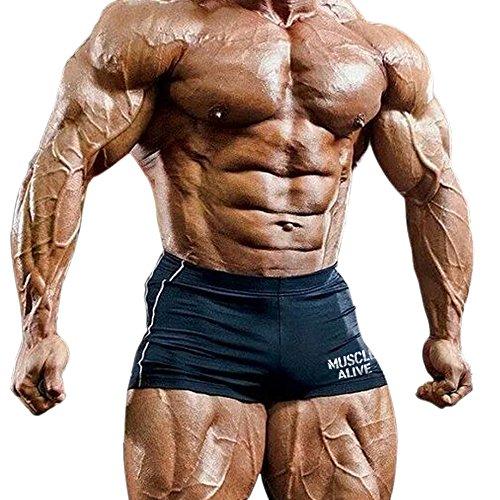 Musclealive Mens Gym Enge 4 inseam...