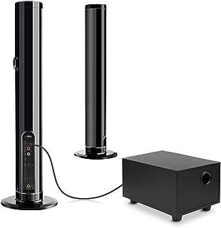 Fityou サウンドバー サブウーファー付き Bluetooth5.0 TVスピーカー ホームシアターシステム テレビスピーカー リモコン付 3つオーディオモード 一体式/分離式/壁掛け 高音質 大音量 OPT 光デジタル/AUX (有線)3...