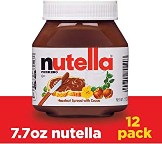 Nutella Chocolate Hazelnut Spread, 7.7 Ounce (Pack of 12)