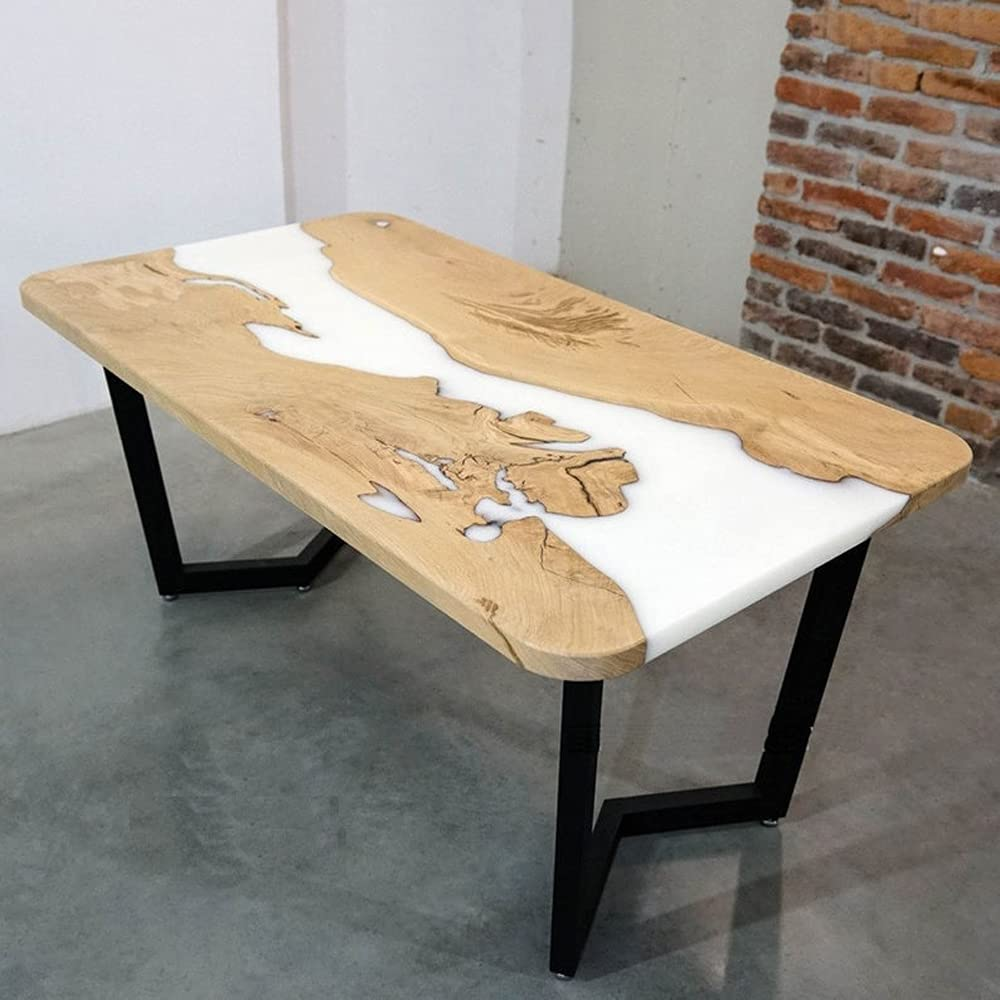 Epoxy Table Live Edge River Resin Directly managed Sales results No. 1 store Wooden Na