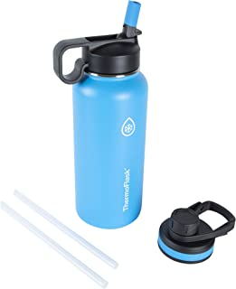 Thermoflask 50073 Double Stainless Steel Insulated Water Bottle, 32 oz, Capri