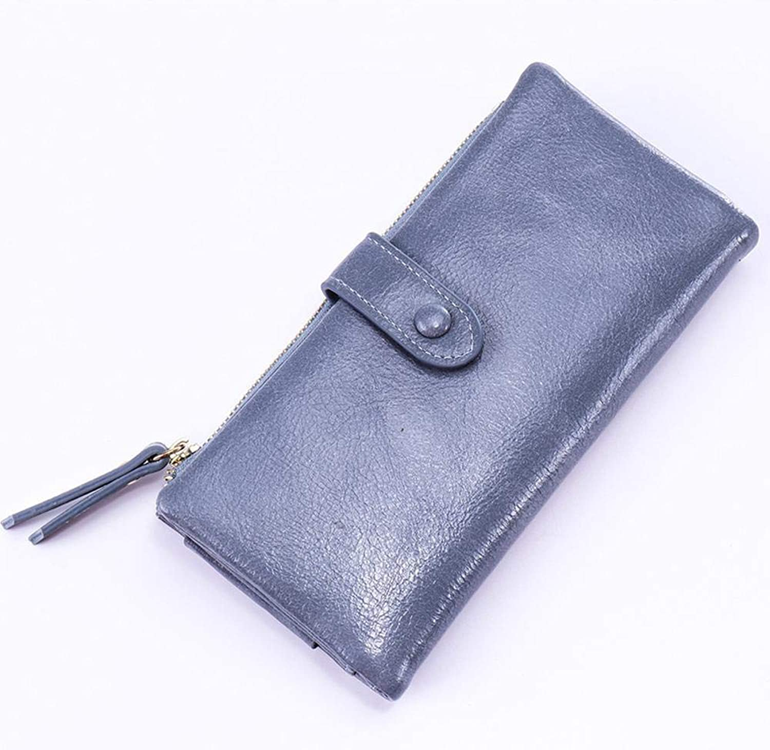 Girls Purse Women's Wallet,Ladies Wallet Student More Than 30 Percent Card Bit Large Hand Bag Multifunctional Mobile Phone Bag PU Leather (color   C)