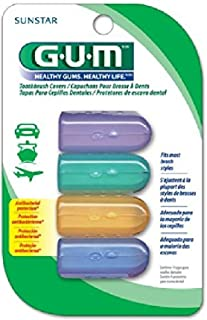 Sunstar 152RF GUM Protect Toothbrush Cover (Pack of 2)