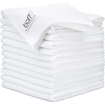 "12"" x 12"" Buff Pro Multi-Surface Microfiber Cleaning Cloths 