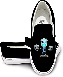 Weiheiwec 9 Undertale - Sans And Gasterblaster Unisex Low-Top Casual Canvas Fashion Sneaker