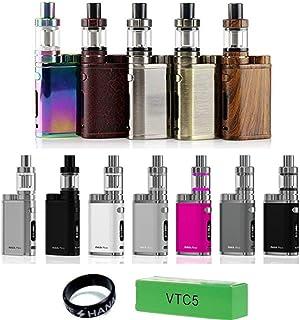 Eleaf iStick Pico スターターキット VTC4電池付 VAPE HANAべイプバンドセット 日本語説明書付 (Brushed silver)