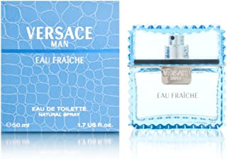 Versace Man Eau Fraiche Eau de Toilette Spray, 50ml