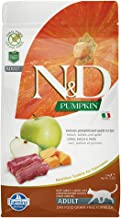Farmina Natural & Delicious Pumpkin, Apple and Venison Grain Free Dry Cat Food 3.3 Pounds
