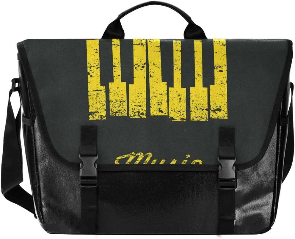 Music Notes Unisex Casual Canvas Nippon regular agency New Shipping Free Shipping Ba Satchel Messenger Waterproof