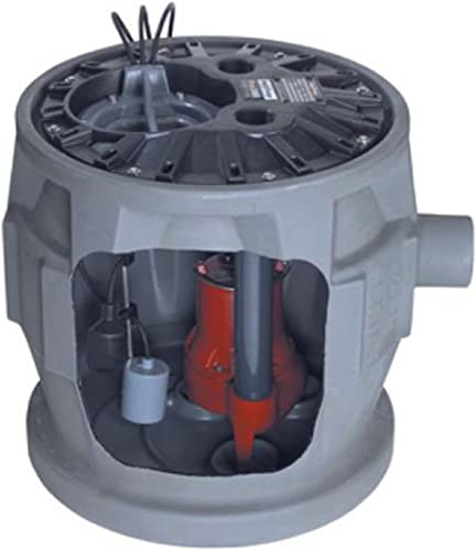 new arrival Liberty Pumps P382LE41 Pro380 Series wholesale popular Simplex Sewage System, GRAY online sale