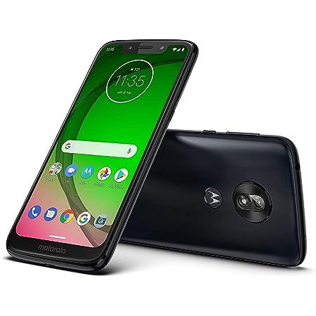 Moto G7 Play (32 GB, 3 GB RAM) 5.7 pulgadas HD+ Max Vision, 4G LTE T-Mobile desbloqueado (AT&T, Metro, Straight Talk, Global) XT1952-4 (negro, paquete SD de 64 GB)
