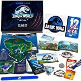 Doctor Collector Jurassic World Deluxe Kit - Kit de Bienvenida al Parque (Matricula, Entrada, Mapa, Pulsera, Guia Dinosaurios, Pegatinas...)
