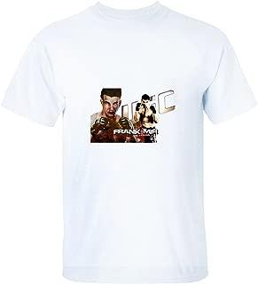 XTOTO Men's Frank Mir Cool T-shirts white XL