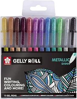 Sakura Gelly Roll Metallic Shiny, Pack Of 12 Pens