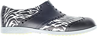 Biion Oxford Pattern Unisex Golf Shoes - Zebra - Men's