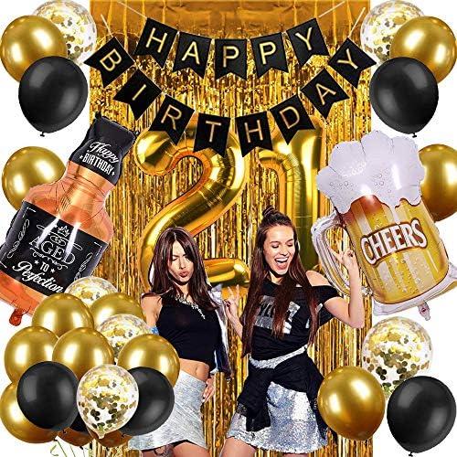 21 birthday decoration _image3