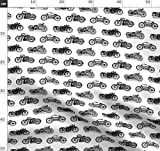 Motorrad, Altmodisch, Verkehrsmittel, Schwarz Und Weiß,