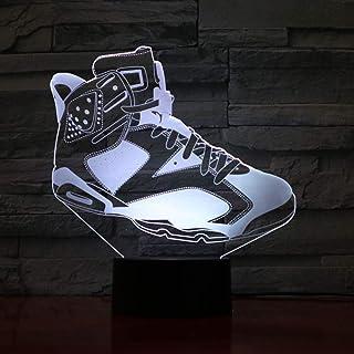 official photos 1c8ee cd9b8 Chaussures de basket-ball pour hommes Led Night Light 3D Illusion RGB  Décoration Enfants Bébé