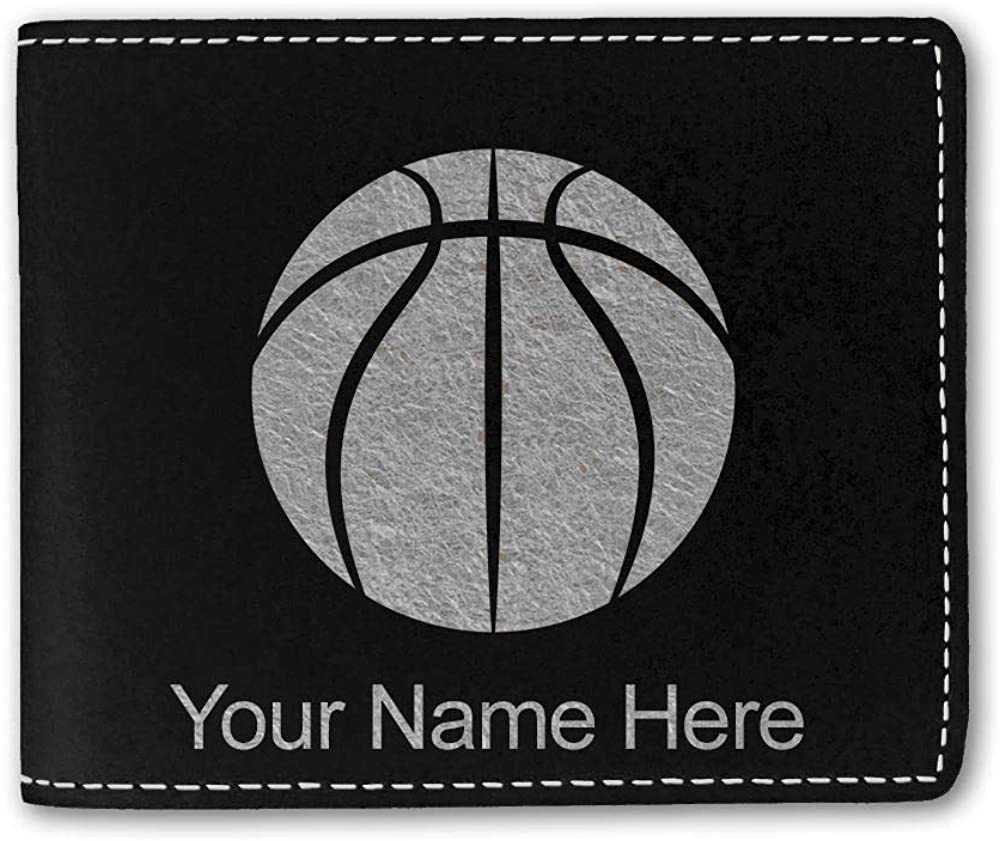 Don't miss the campaign LaserGram Bi-Fold Wallet Basketball Las Vegas Mall Engravin Ball Personalized