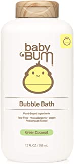 Baby Bum Bubble Bath | Tear Free Foaming Bubble Bath for Sensitive Skin with White Ginger| Natural Fragrance | Gluten Free...