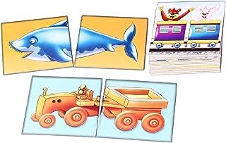 Creative Educational Aids P. Ltd. Heads & Tails Puzzle (Multi-Color)