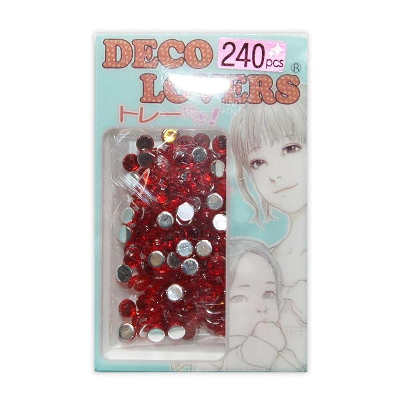 究極の潤滑するすずめラインストーン DL037/acryl4mm red