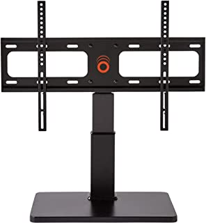 """ECHOGEAR Universal Tabletop TV Swivel Stand for 32"""" to 60"""" TVs - Improves Stability Plus Adds 75º of Swivel and 4"""" of Heig..."""