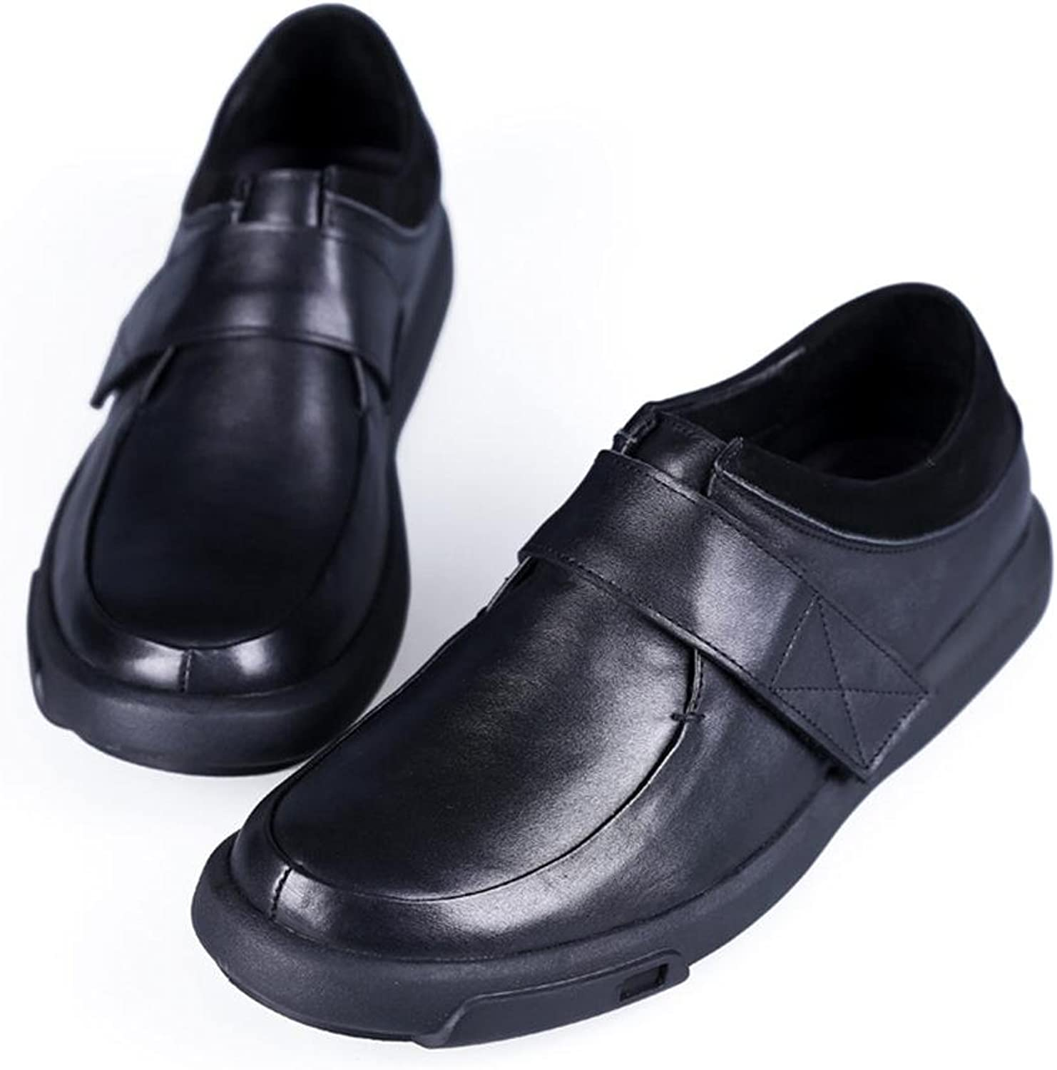 CHAOYANGLeather shoes leather hand business and leisure low man shoes , black , 40