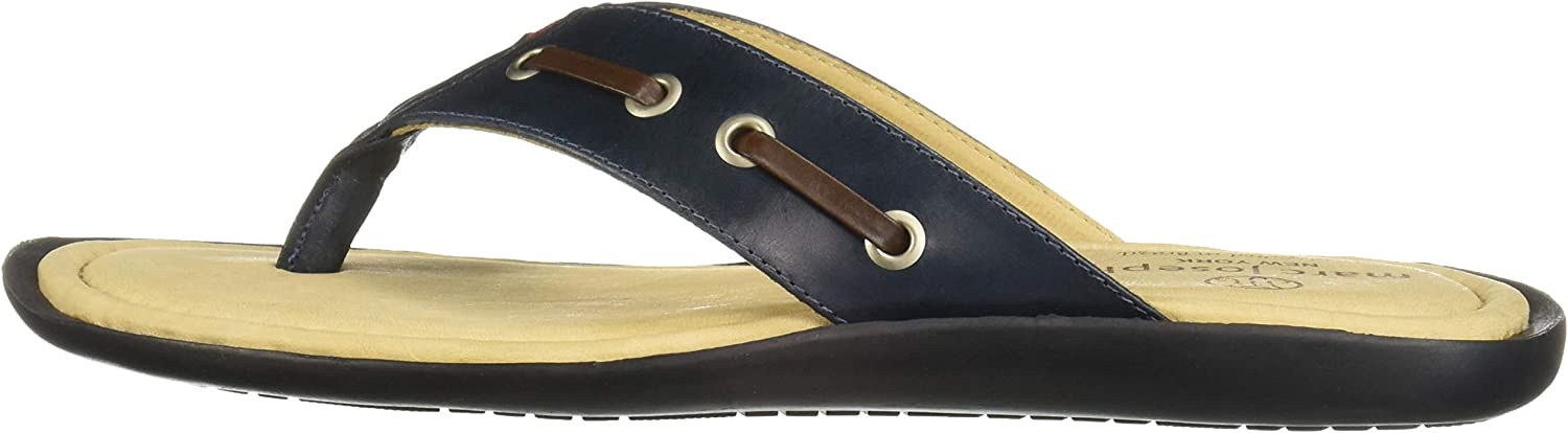 MARC JOSEPH NEW YORK Mens Leather Made in Brazil Cypress Hill Fashion Comfort Sandal
