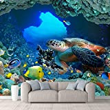 wall26 Wall Mural The Beautiful Undersea...
