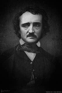 Edgar Allan Poe Portrait by Brigid Ashwood Art Print Laminated Dry Erase Sign Poster 12x18