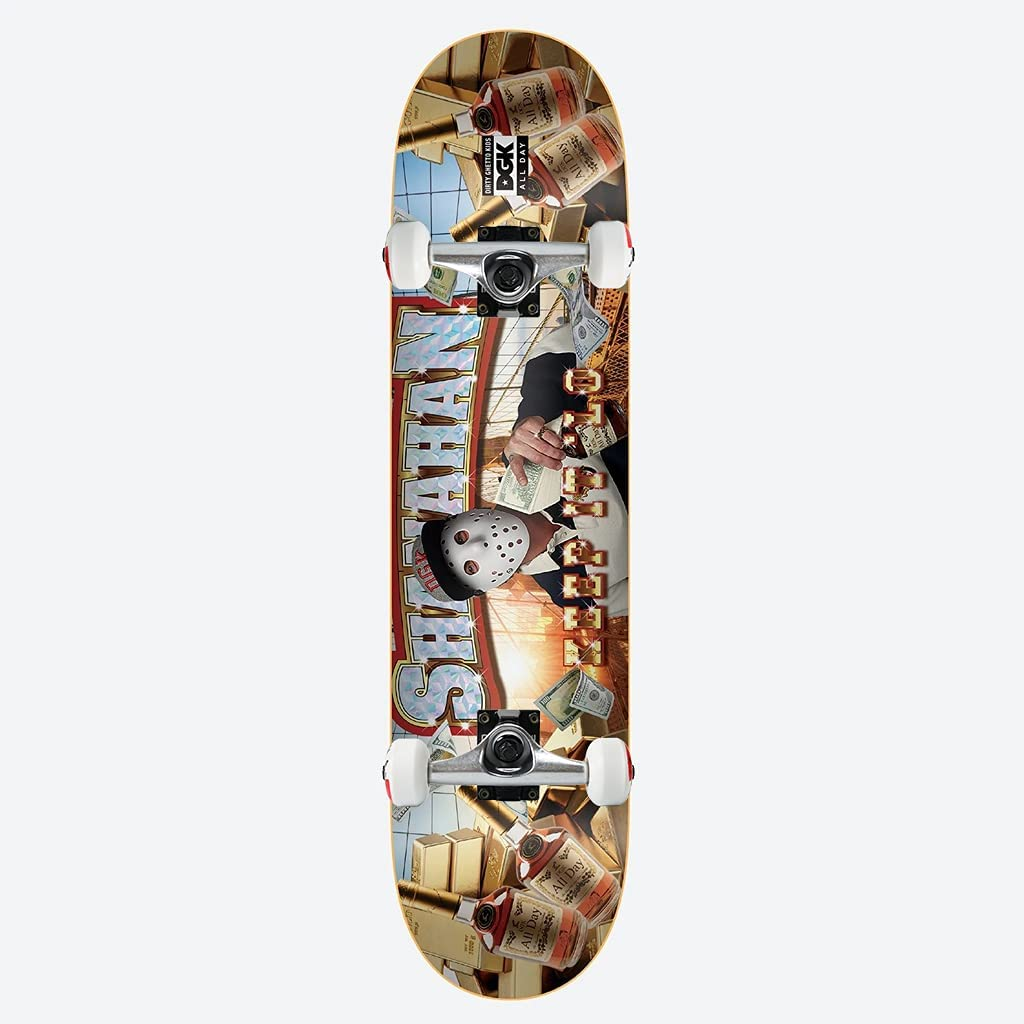 Cheap mail order specialty store DGK Skateboard Assembly Ghetto Super sale Shanahan Fab 8.06