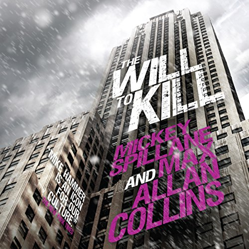 The Will to Kill audiobook cover art