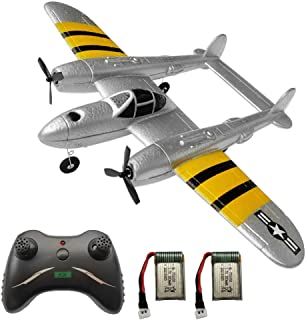 RC Plane 2 Channel Remote Control Airplane Ready to Fly RC Planes for Beginner, Advanced RC Foam Airplane for Kids Boys Be...
