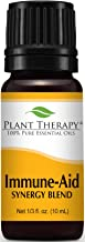 Plant Therapy Immune Aid Synergy Essential Oil 100% Pure, Undiluted, Therapeutic Grade (10 ml)