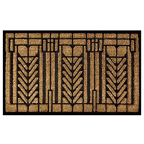 Lovtepets Frank Lloyd Wright Tree of Life Design Doormat