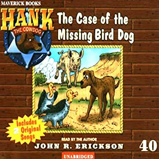 The Case of the Missing Bird Dog audiobook cover art