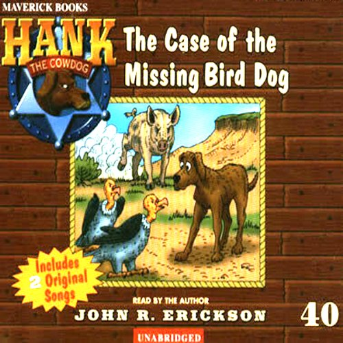 The Case of the Missing Bird Dog copertina