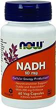 NOW Nadh Ribose 200mg Energy 10 mg, 60 Veg Capsules