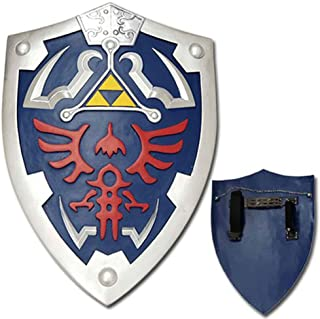 Top Swords Full Size Link Hylian Zelda Shield with Grip & Handle
