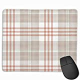 Tapis de Souris Glen Plaid Pattern Tweed Hounds 25 X 30 CM Gaming Mouse Pad with Surface Resistant Water, Antidérapant Rubber Base