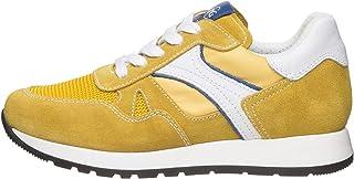 NeroGiardini E033800M Sneaker Teens Chico De Piel, Ante Y Tela