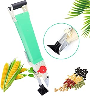 ZHFEISY Adjustable Manual Handheld Seed Fertilizer Dispenser Sower Seed Spreaders Seeder Seed Planter Tool for Wheat/Soybean/Pea/Corn