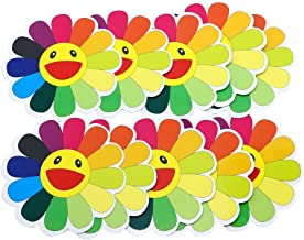 Hybsk Sunflower Waterproof Stickers Paster Reflective Stickers