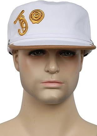 d63812d7637 XCOSER Anime JoJo s Baseball Peak Cap Kujou Jotarou Hat for Cosplay Props  Accessories